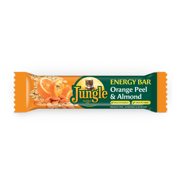 Energy Bar Orange Peel & Almonds
