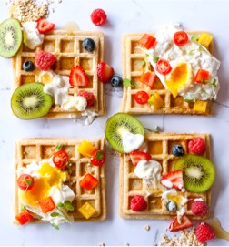 Savoury Jungle Oats Waffles slider img