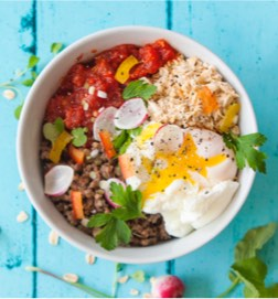 Savoury Spanish Jungle Oat Bowls
